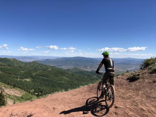 Mountain biking the Wasatch Crest Trail