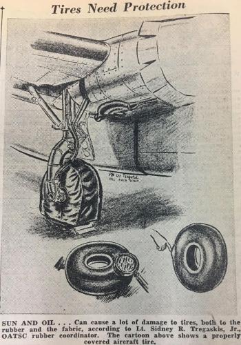 Airplane wheel maintenance